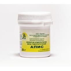 Мазь гомеопатическая «АПИС» 25гр.