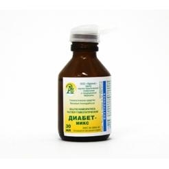 Раствор гомеопатический «Диабет-микс» 30 мл.